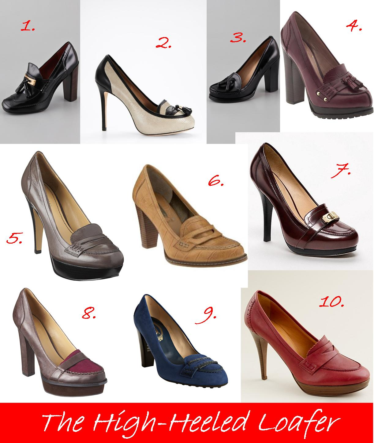 180d7f37ba7 Here are my top 10 high heel loafers for this week s Fresh Picks to Follow.  Do you have any high heeled loafers  Let me know what you think!