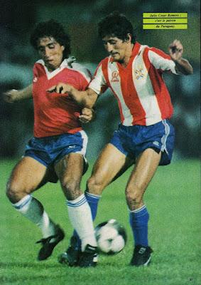 Paraguay y Chile en Clasificatorias a México 1986, 10 de noviembre de 1985