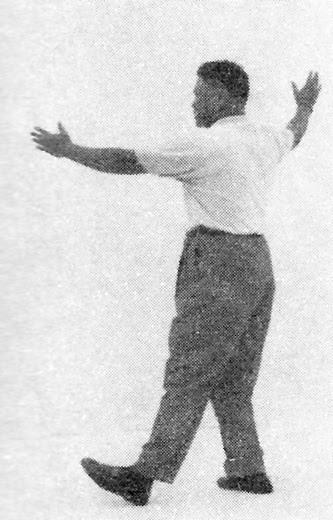 太極拳 (方拳) 45 摟膝抝步