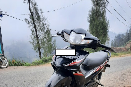 Honda Absolute Revo sesuai dengan namanya di Gunung Bromo