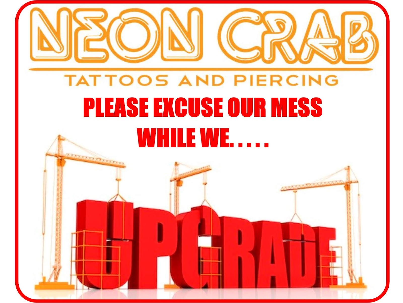 d4a63ce3fc44c Exciting changes are coming to the Neon Crab in Strathroy. For the next 2  weeks, we are still open, but please excuse the chaos inside, as we upgrade  our ...