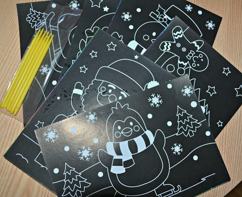 Christmas Scratch Art Scenesreview
