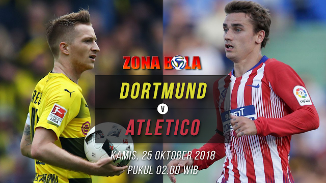 Prediksi Bola Borussia Dortmund vs Atletico Madrid Liga Champions