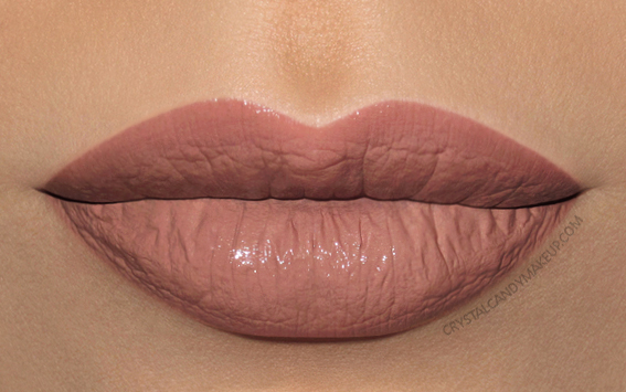 Make Up For Ever Artist Nude Creme Liquid Lipstick MUFE Swatches 03 Buff