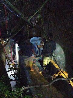 Tertimbun Longsor Pengerjaan Pembuatan Saluran Pipanisasi Air Minum di Kuta Galoh, Tiga Orang Meninggal