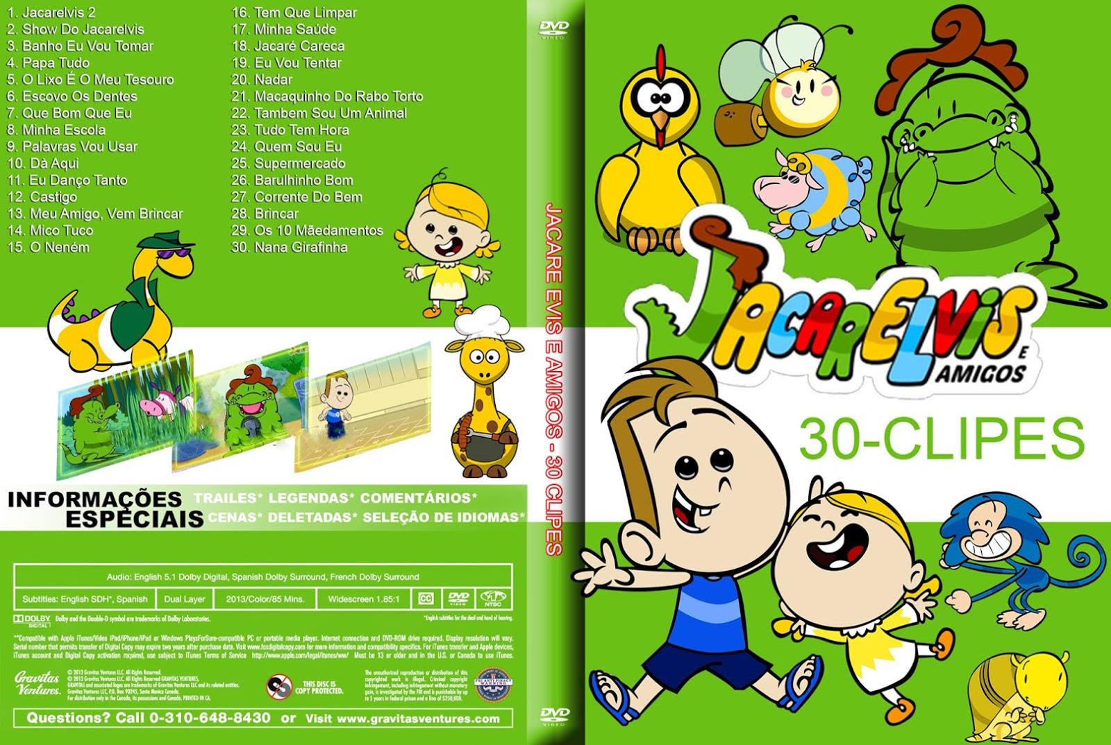 Jacarelvis E Amigos 30 Clipes DVDRip + DVD-R Jacarelvis 2BE 2BAmigos 2B30 2BClipes 2BDVD R 2BXANDAODOWNLOAD