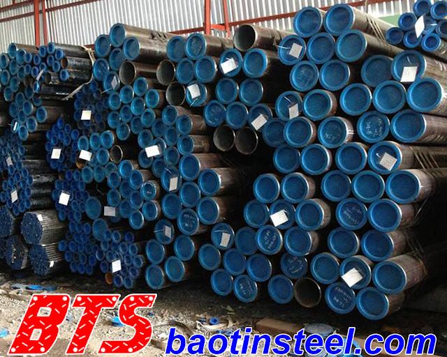 Ống thép đúc nhập khẩu API 5L ASTM A106 A53 Gr B