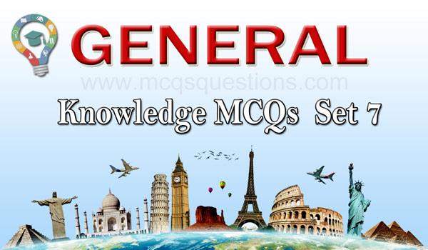 General Knowledge Quiz Questions Set 7