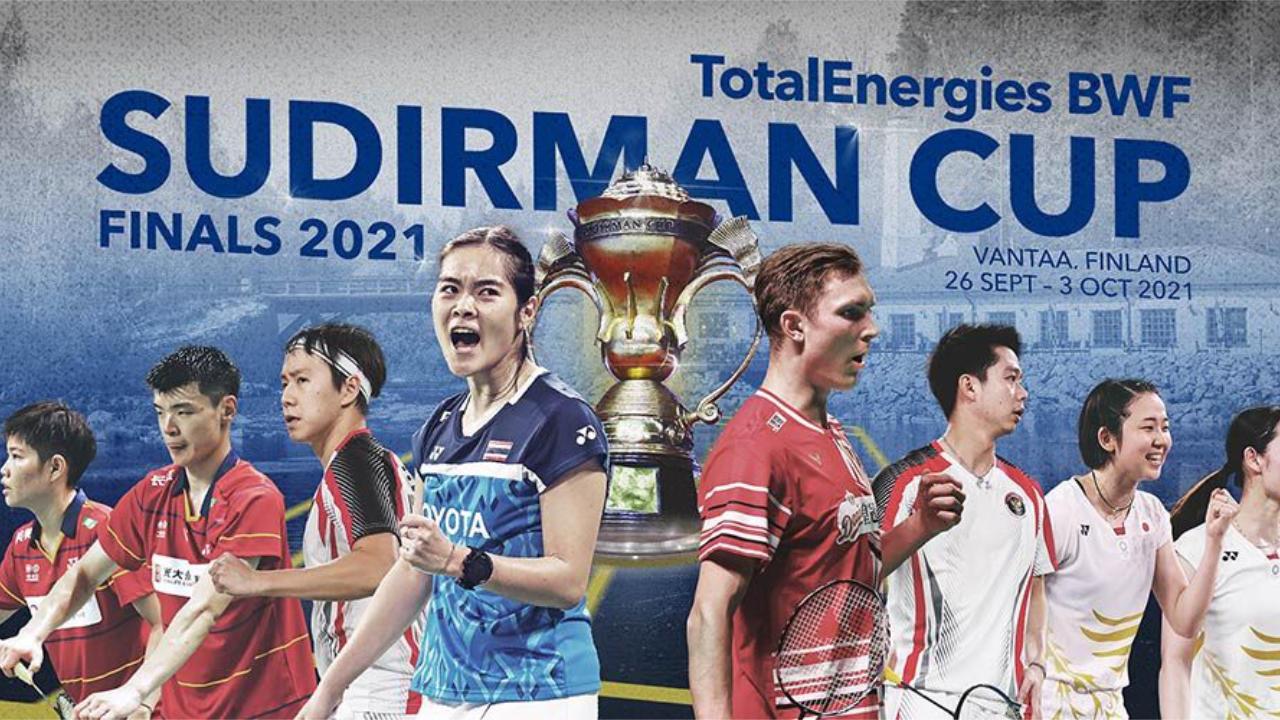 Jadual Penuh Perlawanan BWF Sudirman Cup 2021