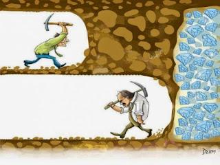 Kesuksesan ada sejengkal saat kita memutuskan menyerah