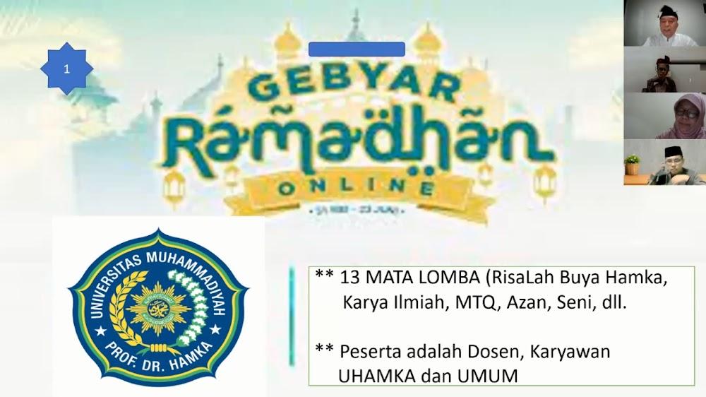 Uhamka Meriahkan Bulan Suci Ramadan dengan Berbagai Kegiatan Hingga Berangkatkan Dosen dan Karyawannya Beribadah Haji