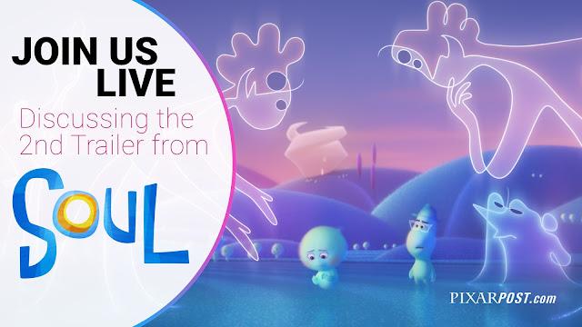 Pixar Soul Second Trailer