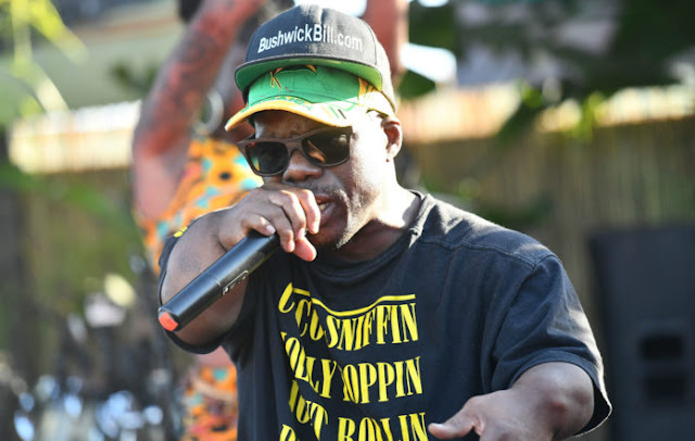 'Coco Sniffin Molly Poppin Joint Rollin Party Hard Whores' shirt as worn by Geto Boys' Bushwick Bill. #PMRC PunkMetalRap.com