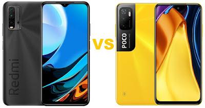 مقارنة بين هاتف Poco M3 و Redmi 9T  مقارنة بين بوكو ام 3 و شاومي ريدمي 9t