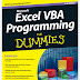 [FREE EBOOK PDF]Excel VBA Programming For Dummies, 3rd Edition by John Walkenbach