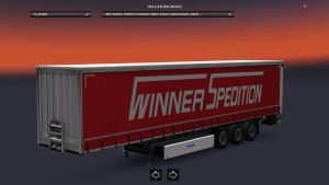 Krone Winner-Spedition Trailer