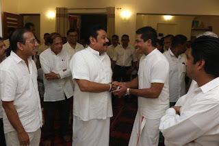 Rumours about Sujeewa Senasingha who attended Mahinda's chuty nangi's bana ceremony