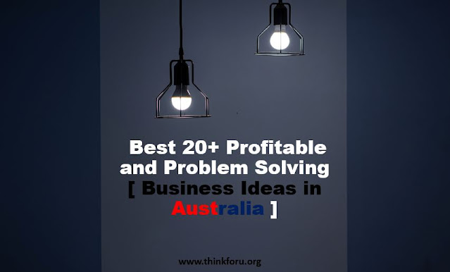 Profitable andCover Image of  Problem Solving [ Business Ideas in Australia ]