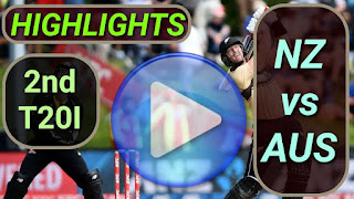 NZ vs AUS 2nd T20I 2021