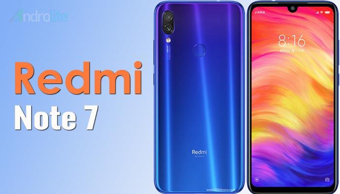 Harga Xiaomi Redmi Note 7 Terbaru 2019 dan Spesifikasi