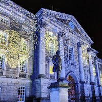 Pictures of Dublin at Night: Trinity College Dublin