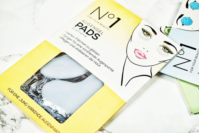 Number One For Your Beauty Augengelpads Glättend