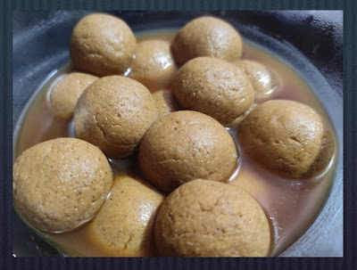 Millet Rasgulla with Jaggery