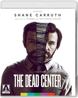Cover art for Arrow Video's Special Edition Blu-ray of THE DEAD CENTER.