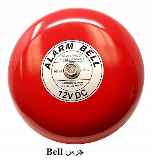 جرس انذار الحريق fire alarm bell