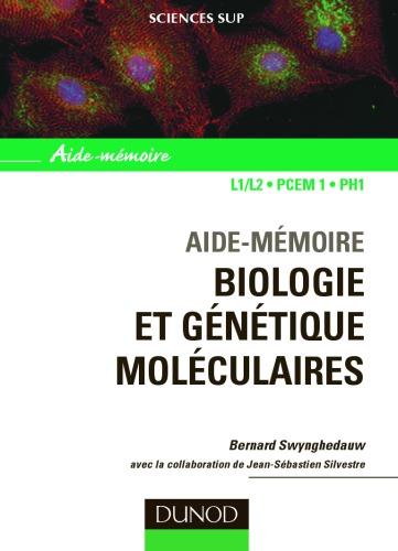 [PDF] Télécharger Livre Gratuit: Biologie et genetique moleculaires : Aide-memoire