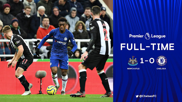 Newcastle 1-0 Chelsea, Late Strike From Hayden Sink Blues (Details, Photos & Highlight)
