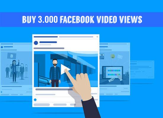 Buy 3000 Facebook Video Views