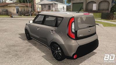 Mod , Carro, Kia Soul 2015 para GTA San Andreas, GTA SA