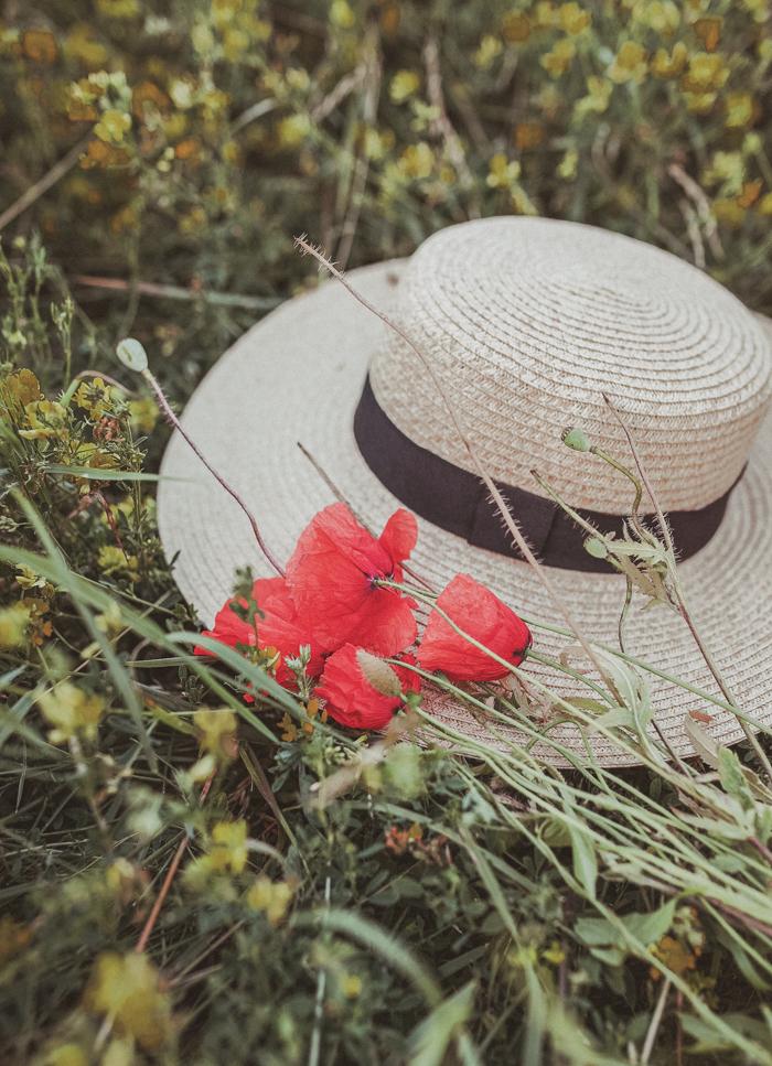 ładny kapelusz na lato