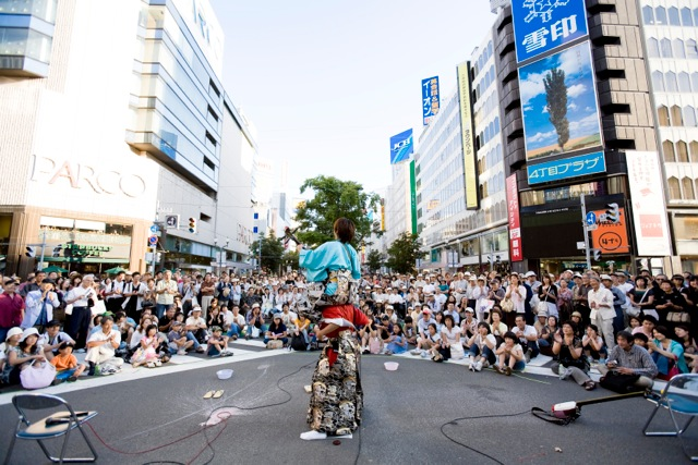 Dai Don Den (street performance carnival), Sapporo, Hokkaido