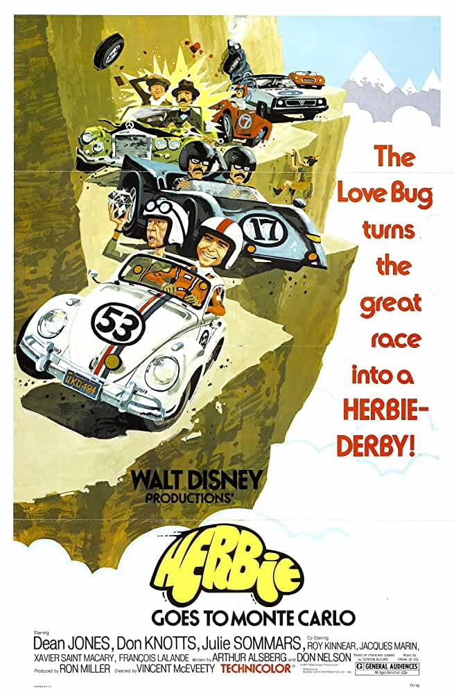 Herbie Goes to Monte Carlo 1977 480p 300MB