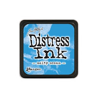 Distress Mini Ink Pad SALTY OCEAN