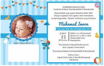undangan aqiqah pdf