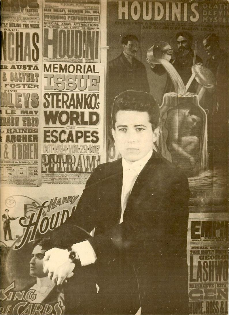 WILD ABOUT HARRY: Genii & Houdini: October 1964