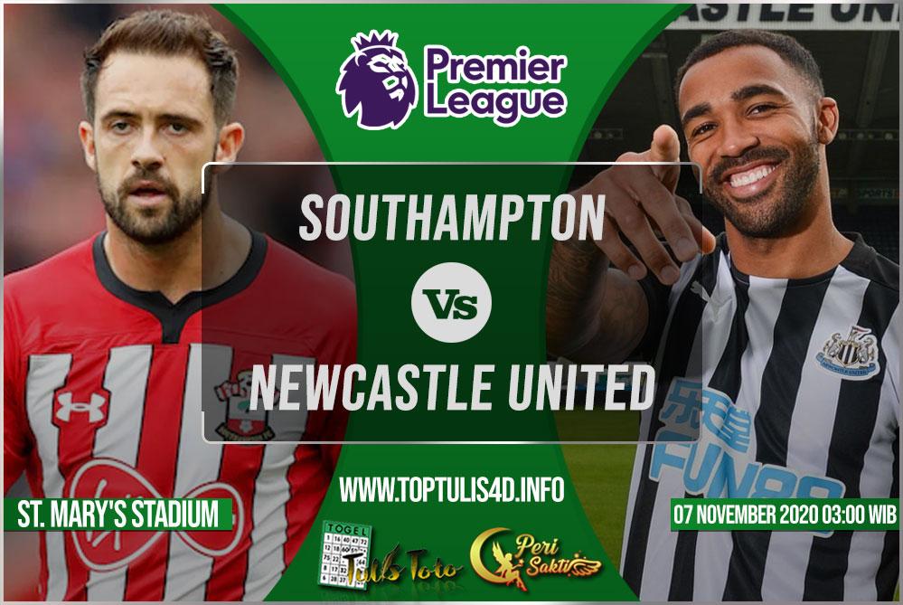 Prediksi Southampton vs Newcastle United 07 November 2020