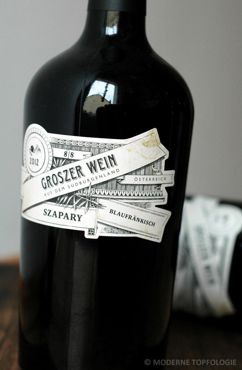 Blaufränkisch und Blaufränkisch Szapary vom Weingut Groszer Wein im Burgenland / Österreich. #MoToLogie #Wein