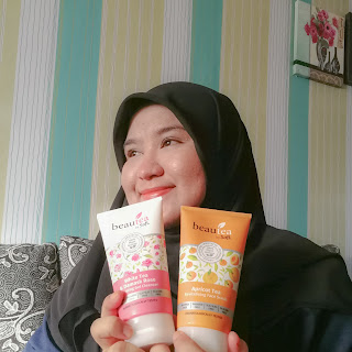 Terkini Beautea By Safi | Review Gel Cleanser & Face Scrub Best 100% Premium Tea