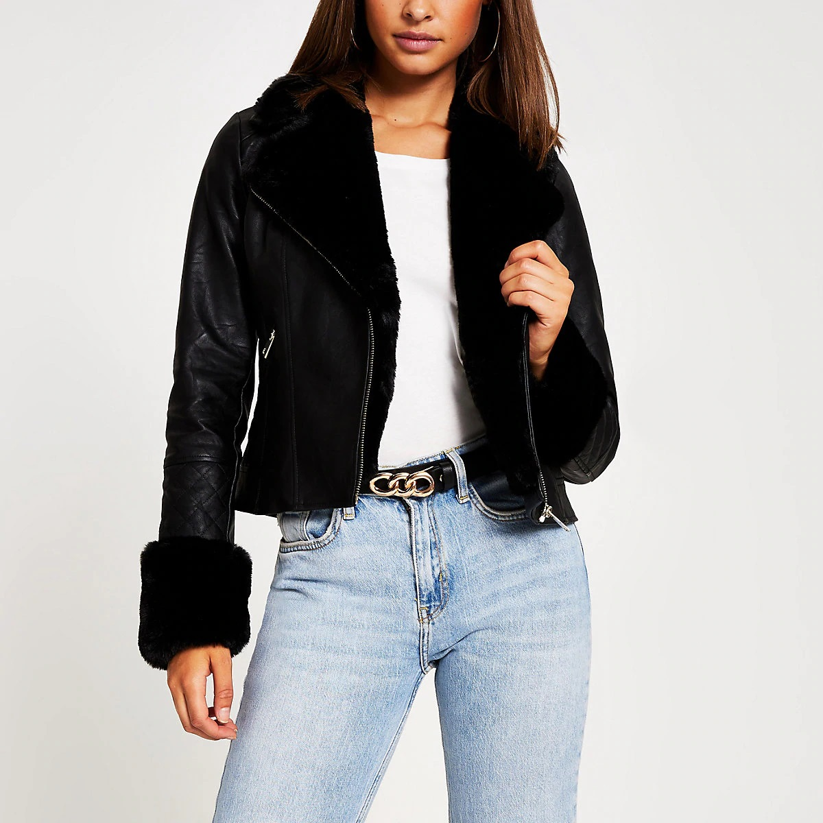 https://www.riverisland.com/p/black-faux-fur-collar-quilted-biker-jacket-799880