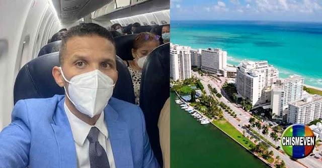 Gilber Caro anuncia desde un avión que se va de Venezuela por el acoso del Régimen