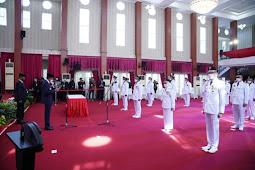 Nurdin Abdullah Resmi Lantik 11 Kepala Daerah Hasil Pilkada 2020 di Sulsel