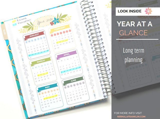 Everyday Planner Of Nirmala Franklin