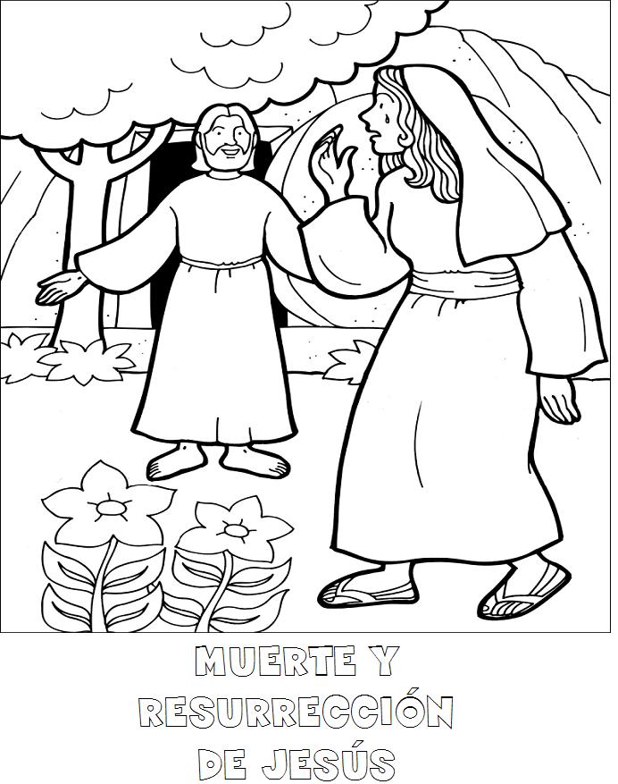 Vida Muerte Y Resurreccion De Jesus Para Niños Hay Niños