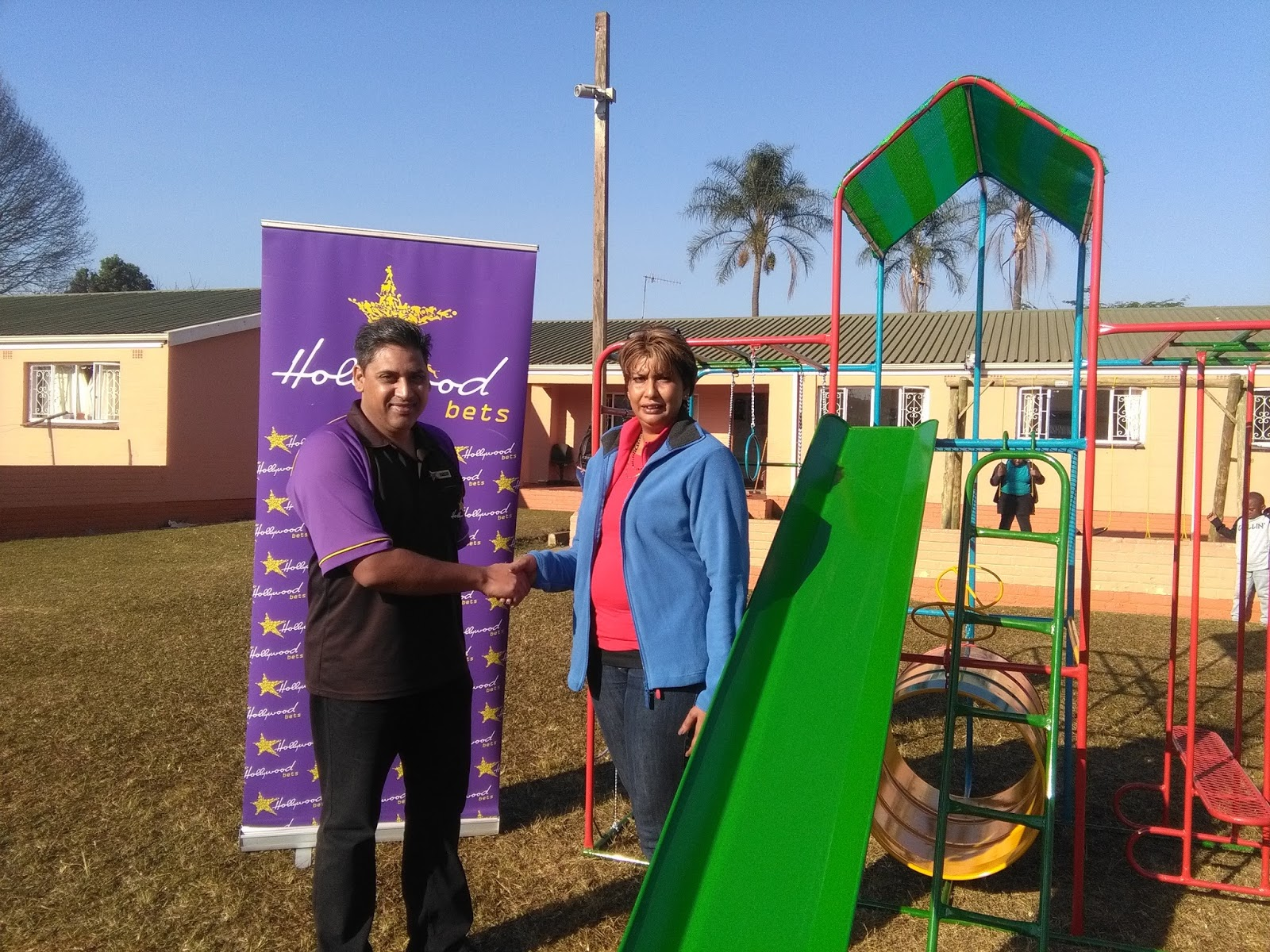 Hollywoodbets Raisethorpe celebrated Mandela Day at Sunlit Gardens Home for Children - Donations - Social Responsibility - Allandale, Pietermaritzburg