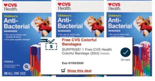 FREE CVS health Bandages 20CT