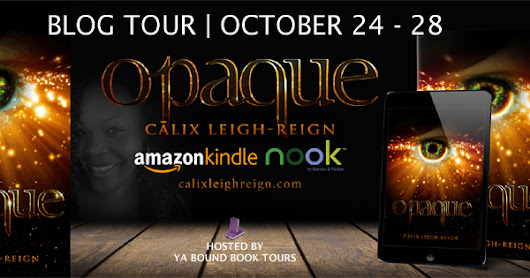 Book review - Opaque, By Calix leigh-Reigh